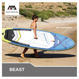 "Aqua Marina BEAST 10'6"" Inflatable Stand up Paddle Board"