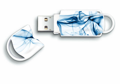Integral Expression 8GB USB 2.0 Flash Drive Wave Design