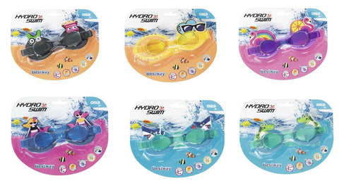 Hydro-Swim Character Kids Swimming Goggles-Bob Gnarly Surf