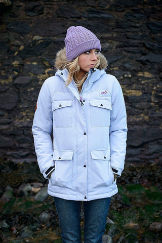 Womens Ebro Parka Jacket Ski Snowboard Waterproof Breathable-Bob Gnarly Surf