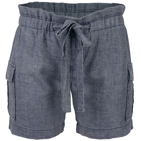 Women's Honomu Cargo Shorts Blue-Bob Gnarly Surf
