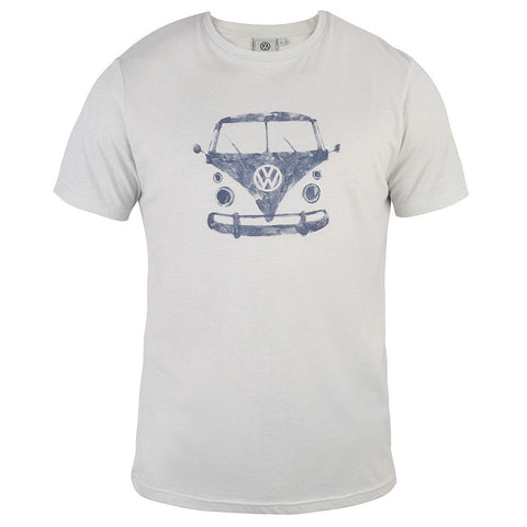 VW Mens Watson T-Shirt Grey-Bob Gnarly Surf