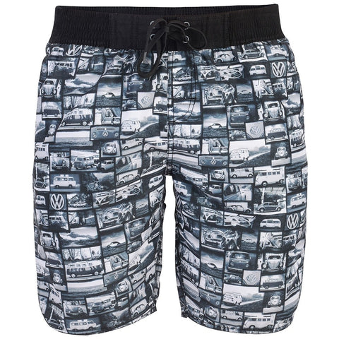 VW Men's Yarrow Board Shorts Black