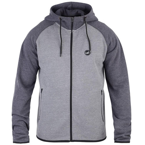 Men's Agea Hoodie Grey-Bob Gnarly Surf