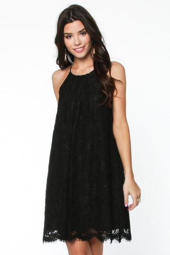 Little {Lace} Black Dress