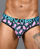 ANDREW CHRISTIAN UNICORN FANTASY BRIEF W/ ALMOST NAKED (NEON) - The Jock Shop