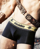 AUSSIEBUM GLADIATOR BOXERS (BLACK) - The Jock Shop