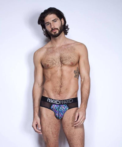 MARCO MARCO STATIC BRIEF (BLUE) - The Jock Shop