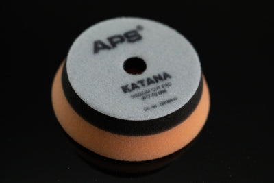 APS Pro Katana Medium Cut Pad ORANGE - Detail-Division