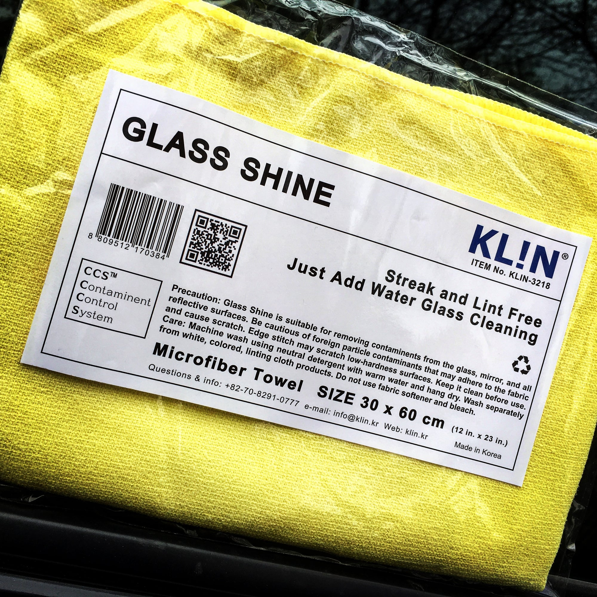KLiN Glass Shine - Detail-Division