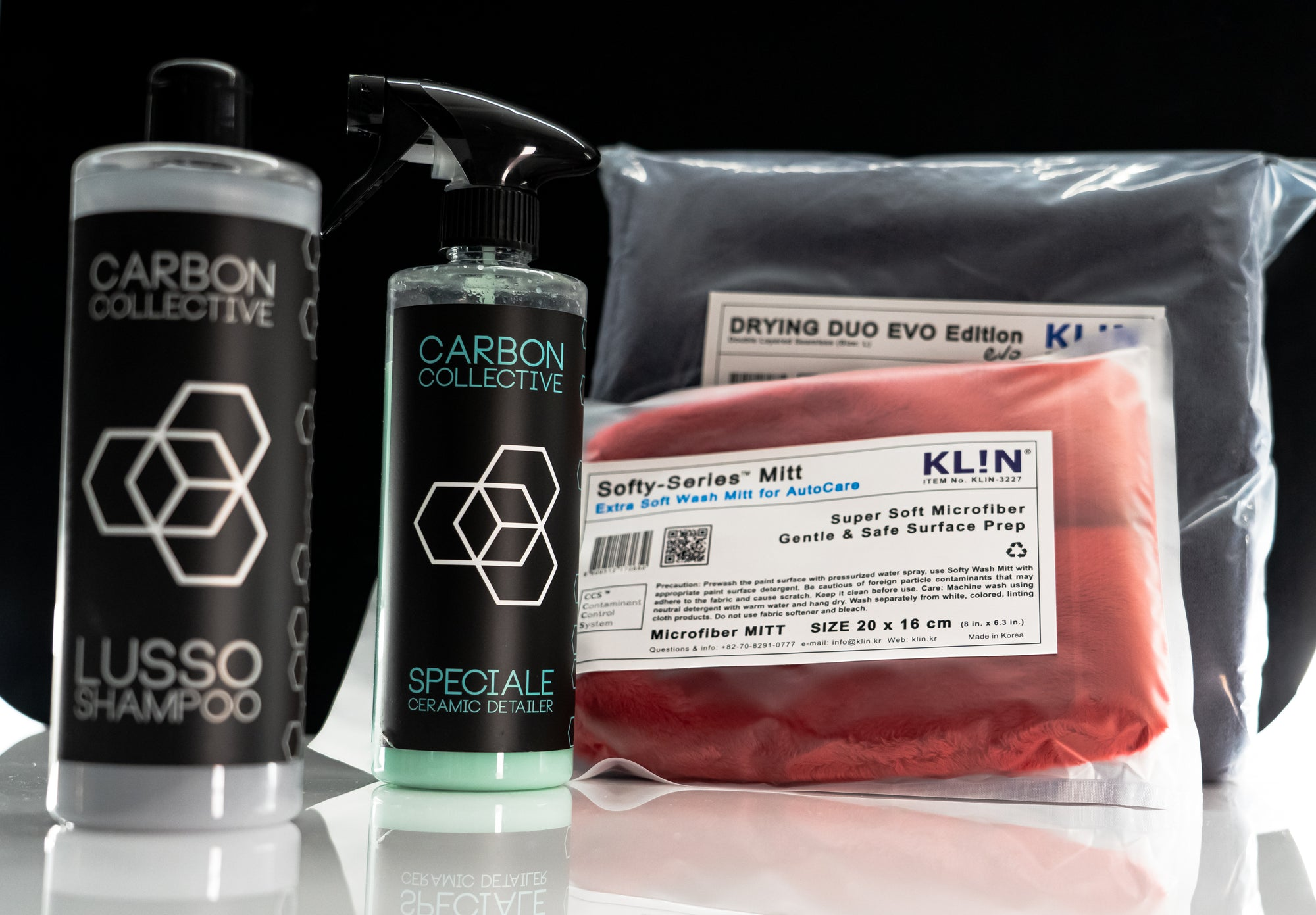 KLiN Korea / Carbon Collective Ceramic Maintenance Kit - Detail-Division