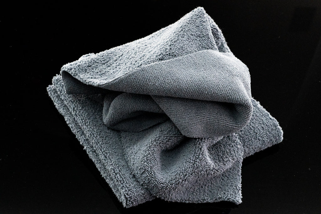 KLiN Dual Side Coating Removal Microfiber Towel (2-pack) - Detail-Division