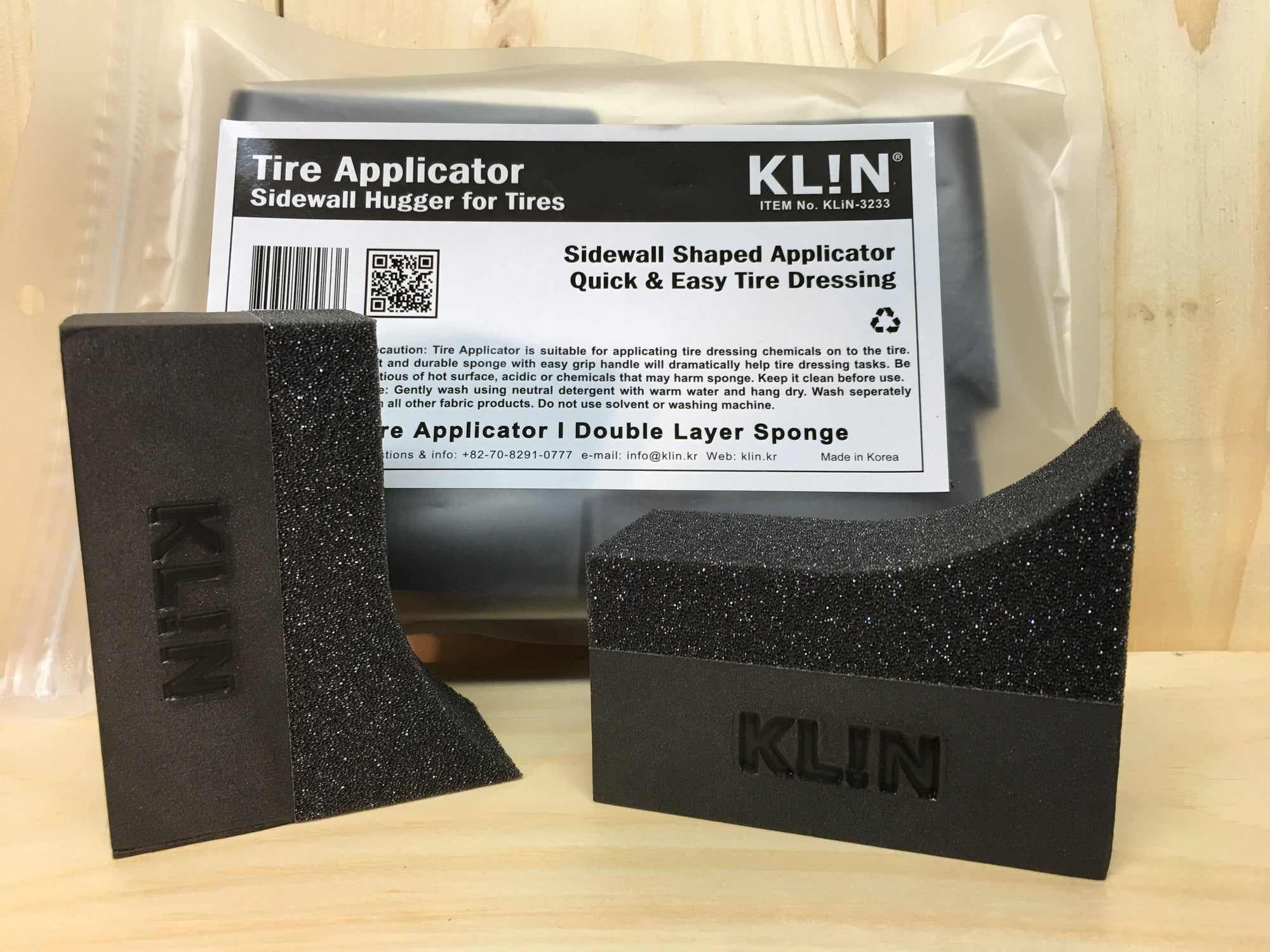 KLiN Foam Tire Applicator 'Sidewall Hugger' - Detail-Division