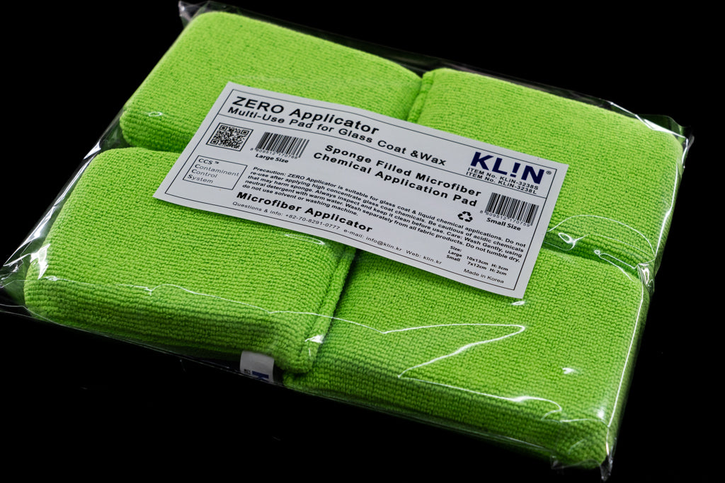 KLiN Zero Microfiber Applicator Packs - Detail-Division
