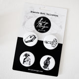 Memento Mori Collection Button Pack