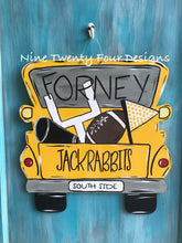 School Spirit Truck Door hanger, school, football, school door decor,