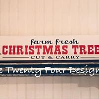 Farm Fresh Christmas Trees, Holiday sign, Christmas sign