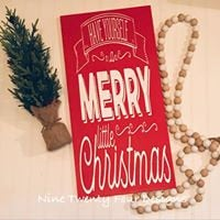 Merry Christmas sign, Christmas decor, Christmas