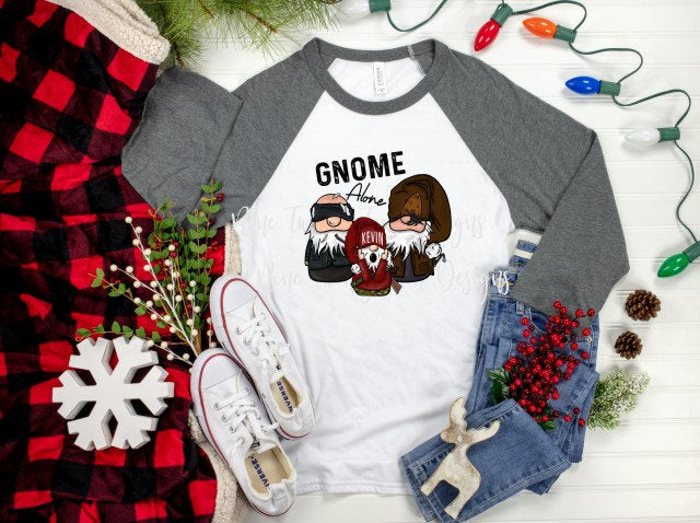 Home Alone, Home Alone Gnome, Wet Bandits, Kevin Gnome, Christmas, Sublimation Transfer. Sublimation