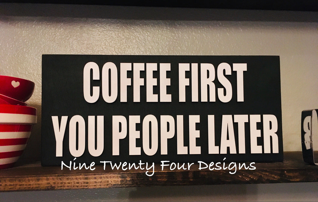 Coffee sign, 3D wood sign, coffee, wood sign