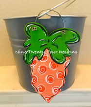 Carrot Tag, Easter Bucket Tag, Easter Tag, Personalized Tag
