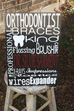 Personalized Orthodontist Sign