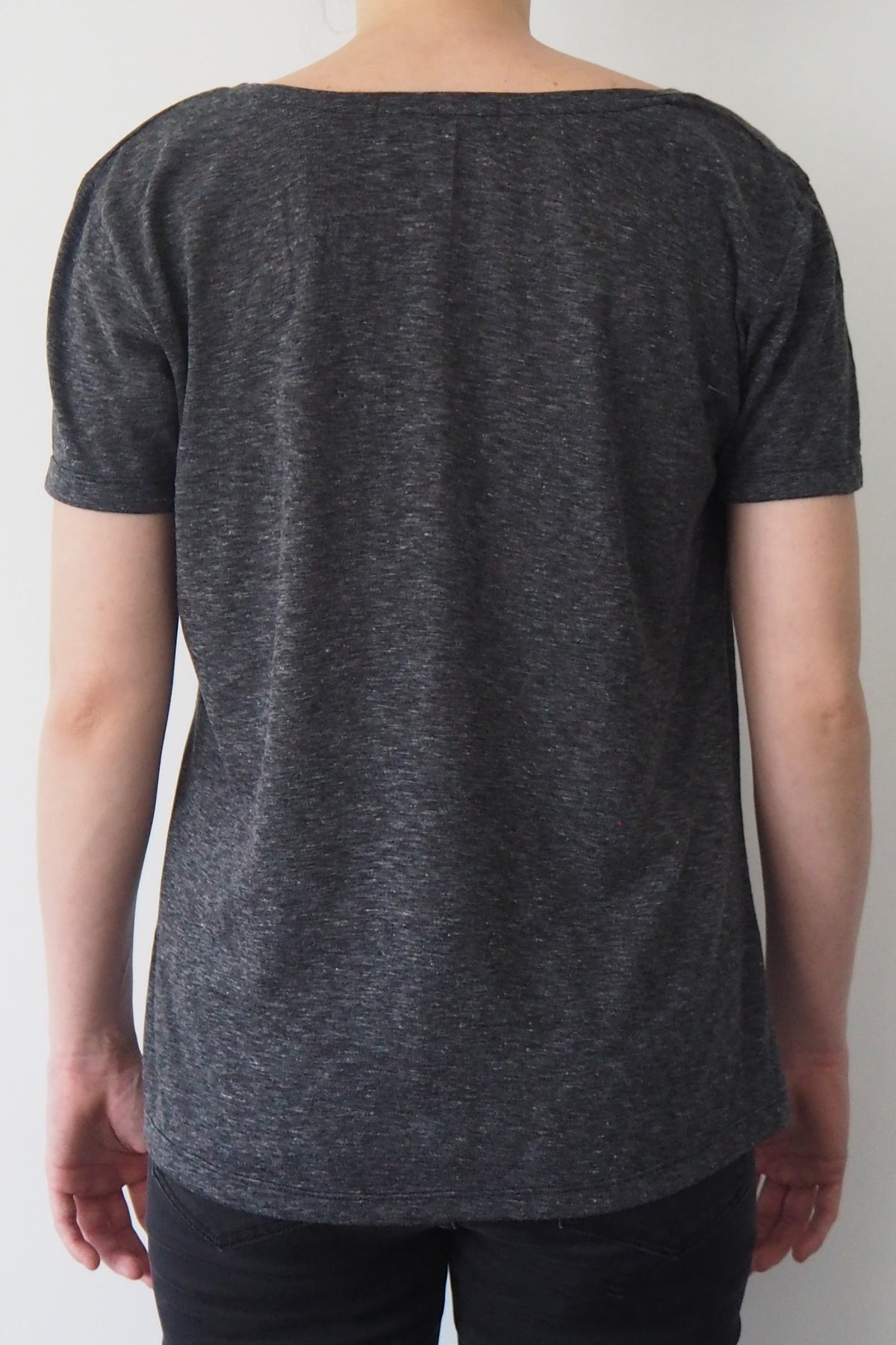 *New Item* Grey Round Neck T-shirt