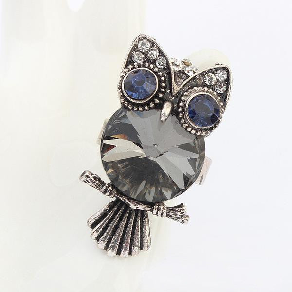 Grey Owl Ring