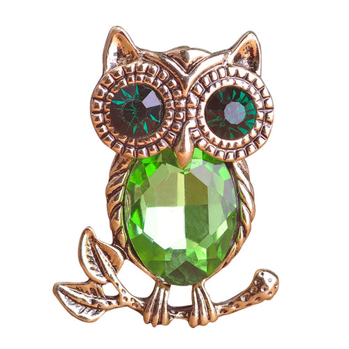 Owl Brooch Jewelry