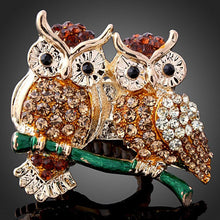 Two Owl Ring