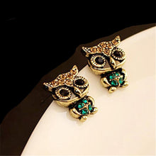 Owl Earrings Studs