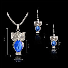 Cute Owl Jewelry Set