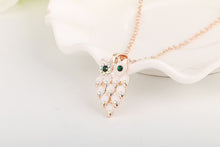 White Owl Jewelry Set