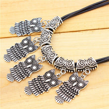 Silver Owl Jewelry Set