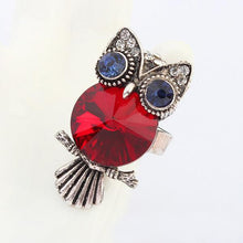 Red Owl Ring