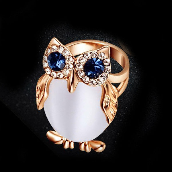 Women's Owl Ring