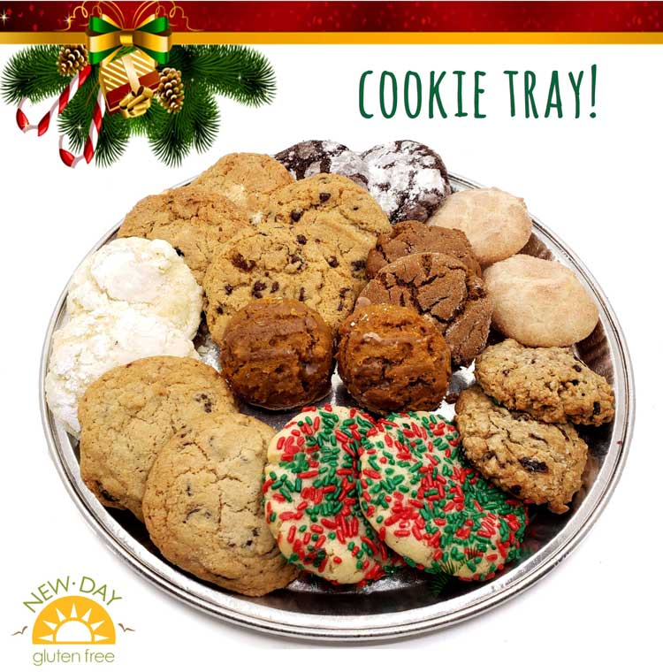 Gluten-Free Peanut-Free Holiday Cookie Tray