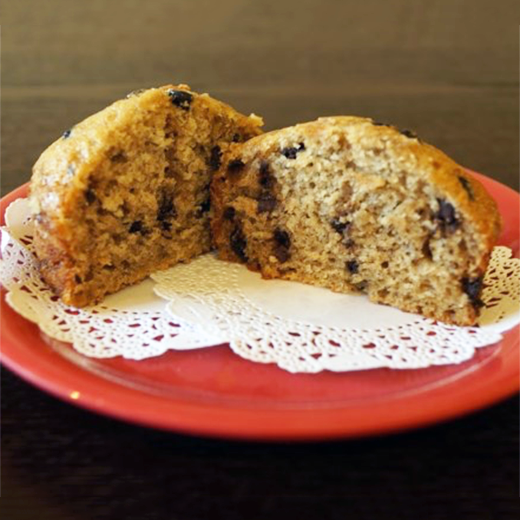 Banana Chocolate Chip Muffin 2 CT