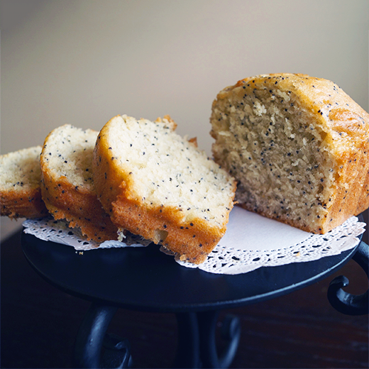 Lemon Poppy Seed Mini Loaf