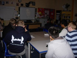 Greensward Academy business session with Dragons Den Winner Magic Whiteboard