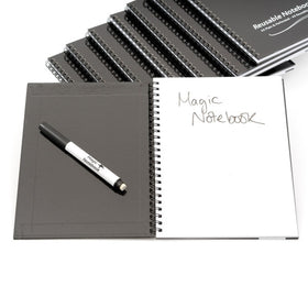 A5 Reusable Magic Whiteboard Notebook ™ - 40 Pages