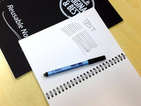 A4 Reusable Magic Whiteboard Notebook ™ - 40 Pages