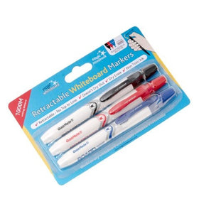 3 pack - Magic Whiteboard Clicky Markers 2mm