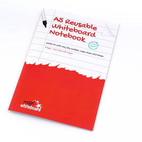 A5 Ruled with margin - Reusable Whiteboard Notebook ™ 8 pages