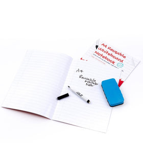 A4 Ruled with margin - Reusable Whiteboard Notebook ™
