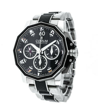 Corum Admiral's Cup 44 Split Seconds Black Dial Automatic Mens Chronograph Watch