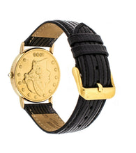 Corum $20 1900 Gold Coin Men's 36mm Quartz Leather Strap Watch