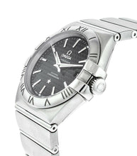 Omega Constellation Chronometer Automatic Black Dial 35mm Watch 123.10.35.20.01.