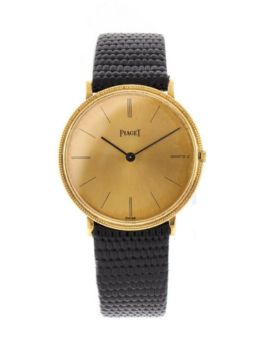 Piaget Ultra Thin 18k Yellow Gold 31mm Manual Wind Watch 9021