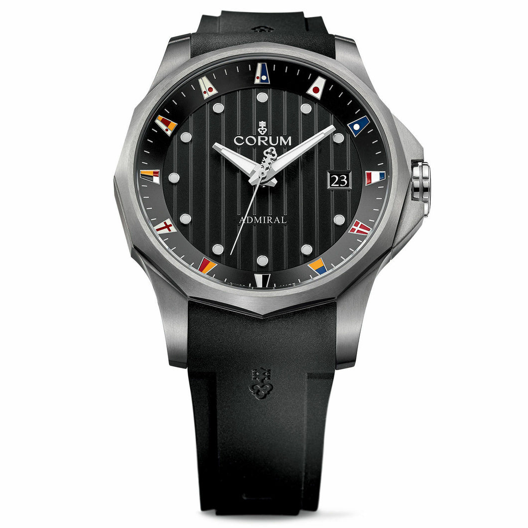 Corum Admiral Legend 47 Black Dial Men's Automatic Watch 403.100.04/F371 AN10